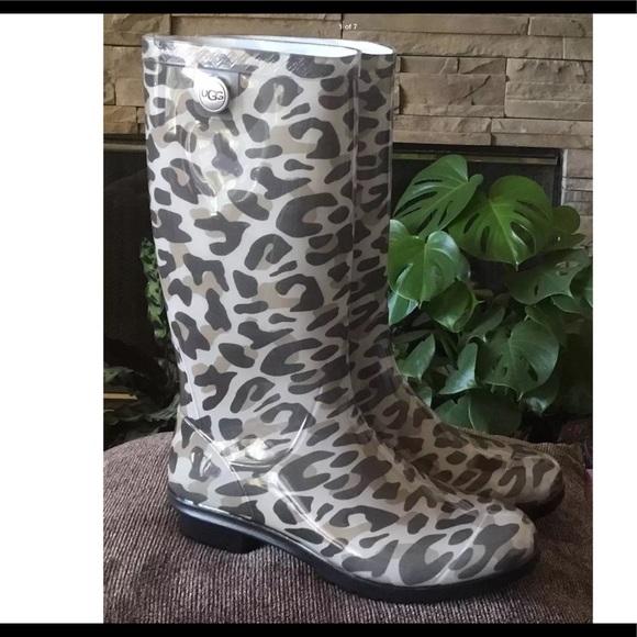 UGG Shoes | Ugg Boot Shaye Leopard Rain